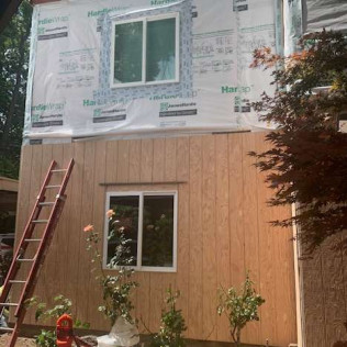 Apartment Building Residing, Window, door and Fascia replacement